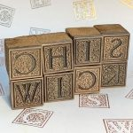 Chiswick Alphabet Stamp, first image, Stamped In Tradition